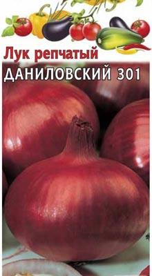 лук чернушка сорт Даниловский 301