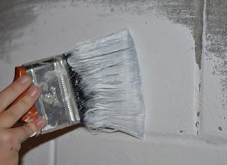 гидроизоляция цоколя краской