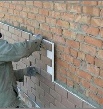Фасадные пластиковые панели с утеплением