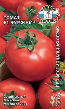 Сорт детерминантных томатов Буржуй