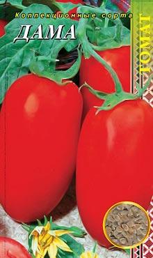 Сорт детерминантных томатов Дама
