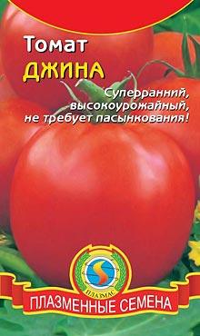 Сорт детерминантных томатов Джина