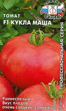 Сорт детерминантных томатов Кукла Маша
