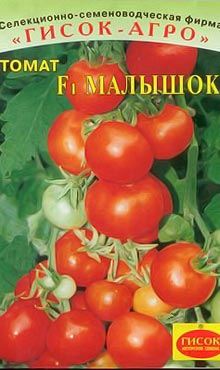 Сорт детерминантных томатов Малышок