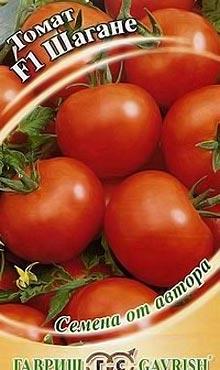 Сорт индетерминантных томатов Шаганэ