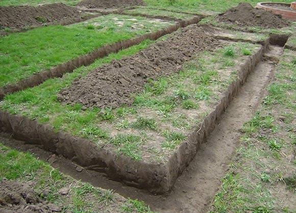 выкопать канаву под фундамен