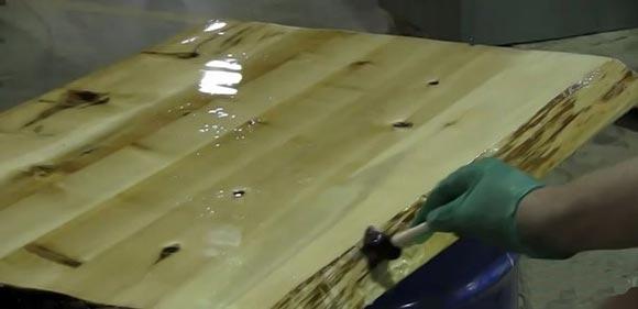 гидроизоляция деревянных поверхностей жидким стеклом