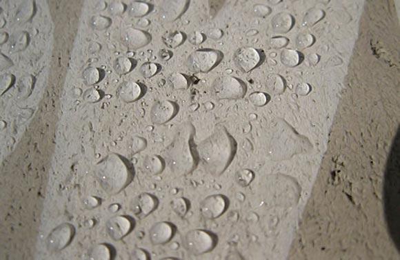 гидрофобность бетона после применения жидкого стекла