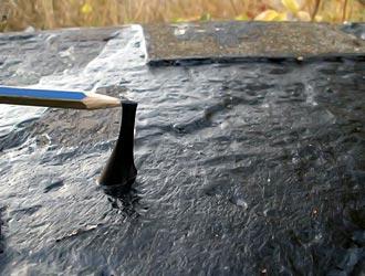 гидроизоляция фундамента битумно-полимерной мастикой