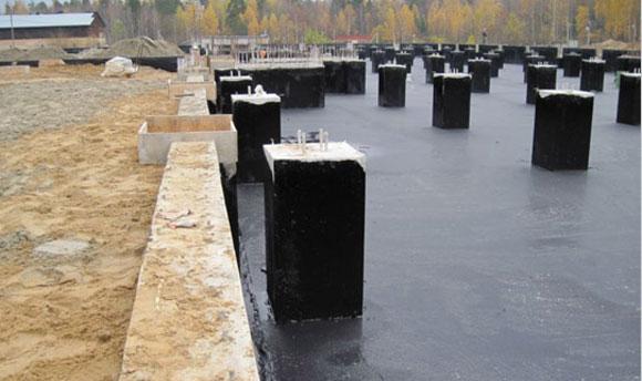 обмазочные материалы для гидроизоляции свай