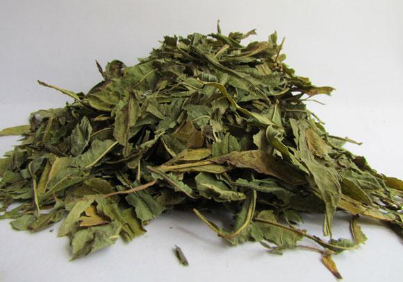 засушенные листья кипрея