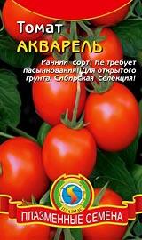 Лучшие сорта низкорослых помидор для открытого грунта Акварель