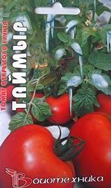 Лучшие сорта низкорослых помидор для открытого грунта Таймыр