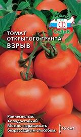 Лучшие сорта низкорослых помидор для открытого грунта Взрыв