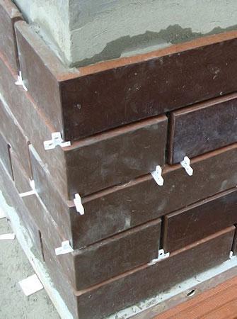 облицовка фундамента клинкерной плиткой