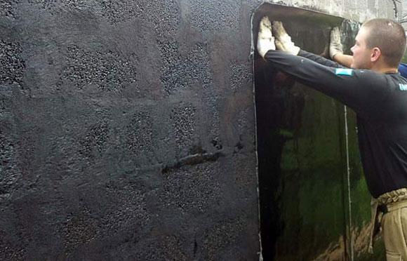 защита бетона рубероидом