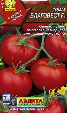 Сорт самоопыляемых томатов? сохраняющий качества сорта Благовест