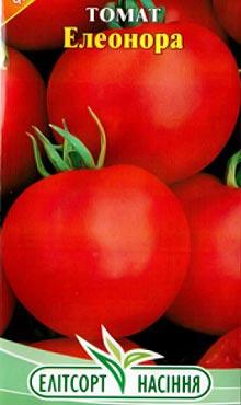 Детерминантный сорт самоопыляемых томатов Элеонора