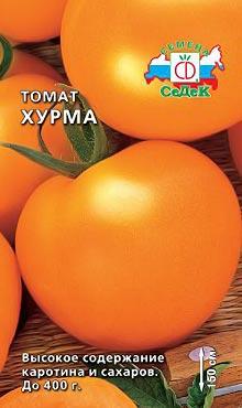 Позднеспелый сорт самоопыляемых томатов Хурма