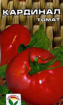 Крупноплодный сорт самоопыляемых томатов Кардинал