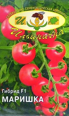 Cорт Черри самоопыляемых томатов Маришка