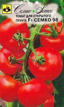 Cкороспелый сорт самоопыляемых томатов Семко-98 F1