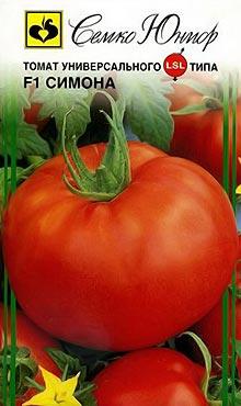 Полудетерминантный сорт самоопыляемых томатов Симона