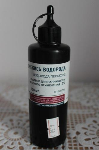 3%-й раствор перекиси водорода для обработки семян помидор