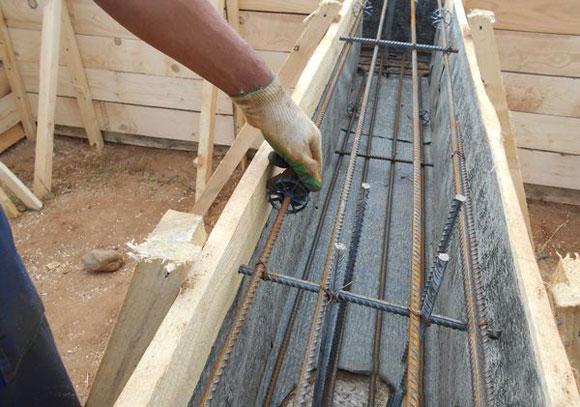 деревянная опалубка для ростверка