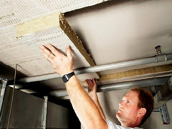 утепление потолка подвала многоквартирного дома