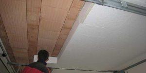 утепление потолка подвала пенопластом изнутри