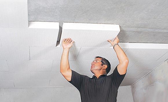 технология утепления потолка подвала