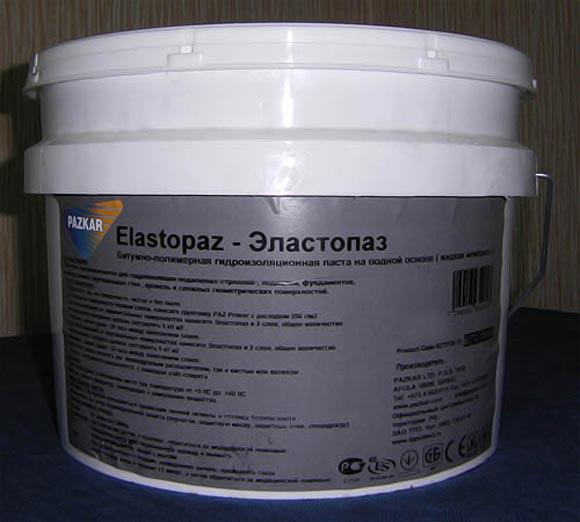 Эластопаз для ручного нанесения жидкой резины